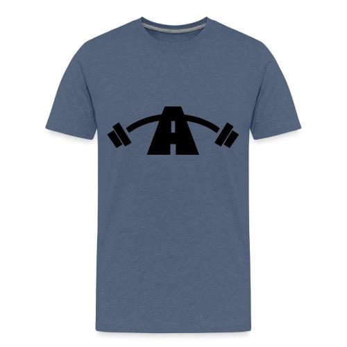 Alpha Logo Black - Kids' Premium T-Shirt