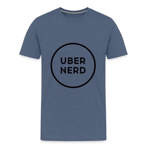 uber nerd logo - Kids' Premium T-Shirt
