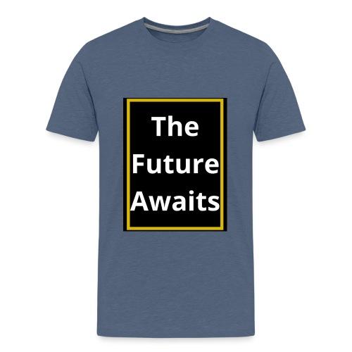 Ouwais Vlogs Merchandise (Gold Edition) - Kids' Premium T-Shirt