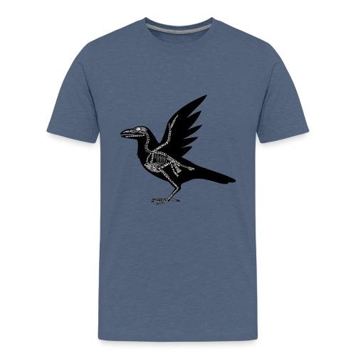 Skeleton Raven - Kids' Premium T-Shirt