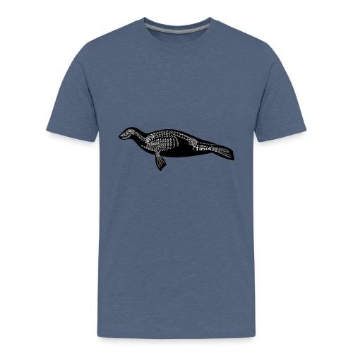 Skeleton Seal - Kids' Premium T-Shirt