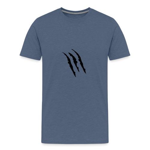 3 claw marks Muscle shirt - Kids' Premium T-Shirt