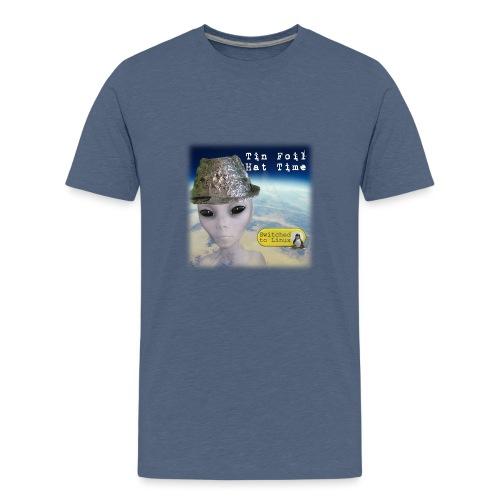 Tin Foil Hat Time (Earth) - Kids' Premium T-Shirt