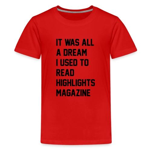 JUICY 1 - Kids' Premium T-Shirt