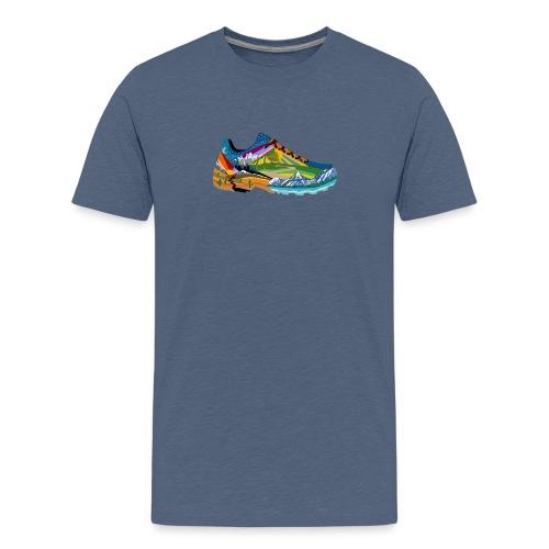 American Hiking x THRU Designs Apparel - Kids' Premium T-Shirt