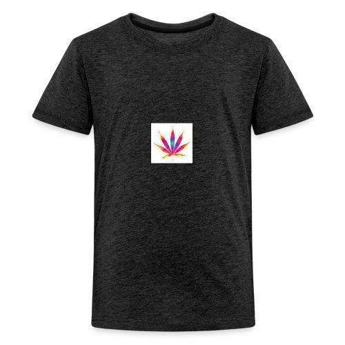 weed leaf2 0 - Kids' Premium T-Shirt