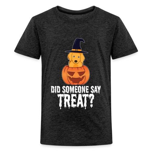 Golden Retriever Halloween Costume Funny Dog Shirt - Kids' Premium T-Shirt