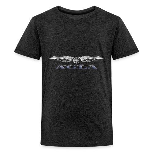 agla_t_shirt_bw - Kids' Premium T-Shirt