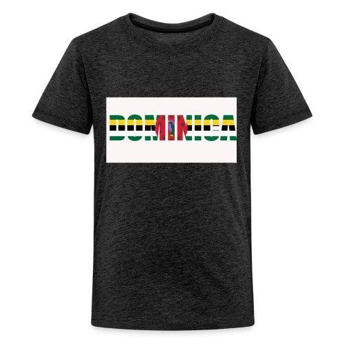 Flag of Dominica - Kids' Premium T-Shirt