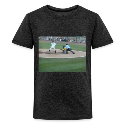 Atlantic League Long Island Ducks Pitch - Kids' Premium T-Shirt