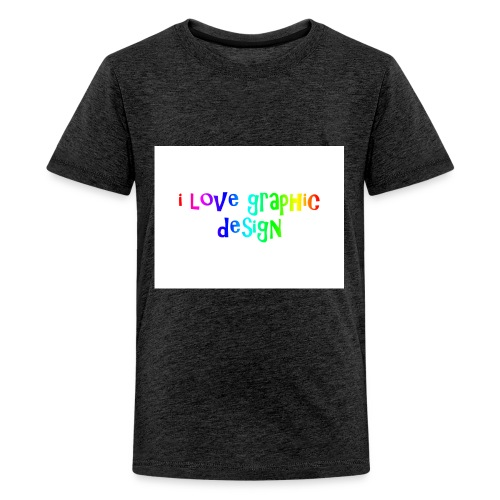 i love graphic design - Kids' Premium T-Shirt