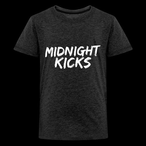Midnight Kicks Logo - Kids' Premium T-Shirt