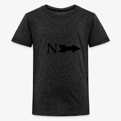 Narrow Logo Black - Kids' Premium T-Shirt