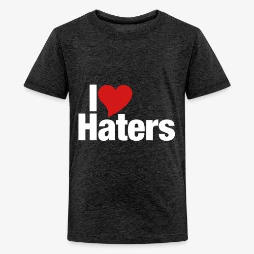 I Love Haters - Kids' Premium T-Shirt