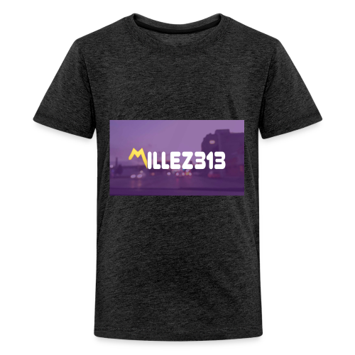 Millez313 with background Tee - Kids' Premium T-Shirt