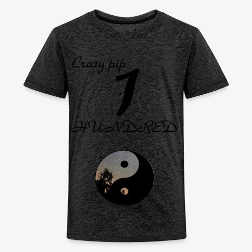 Crazy pip 100 subscriber murch - Kids' Premium T-Shirt