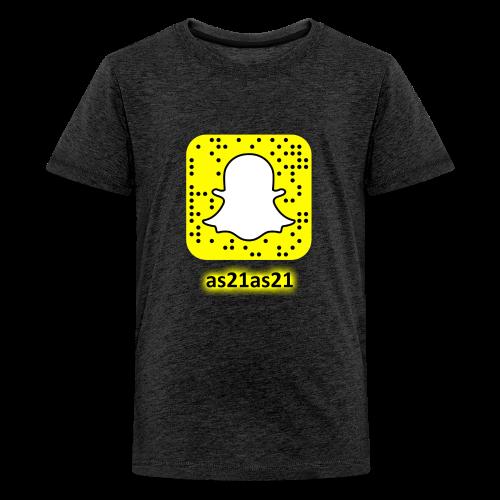 Alden's Snapchat - Kids' Premium T-Shirt