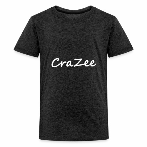 CraZee White - Kids' Premium T-Shirt
