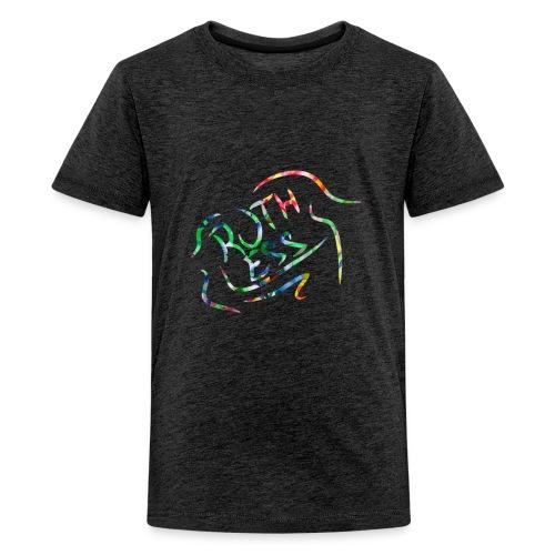 Flower Signature Black - Kids' Premium T-Shirt