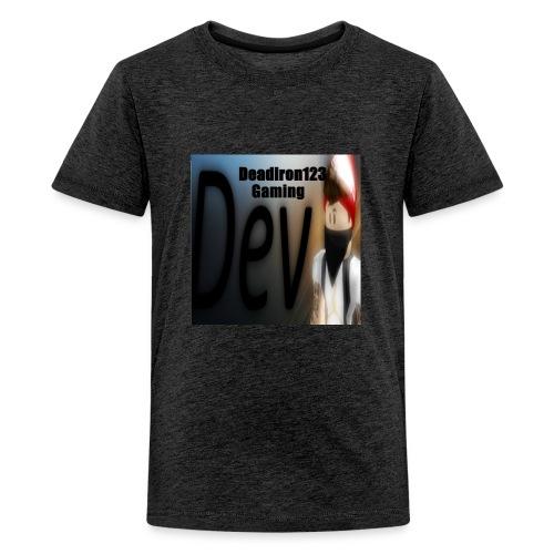 Deadiron123 Gaming Dev Phone case. - Kids' Premium T-Shirt