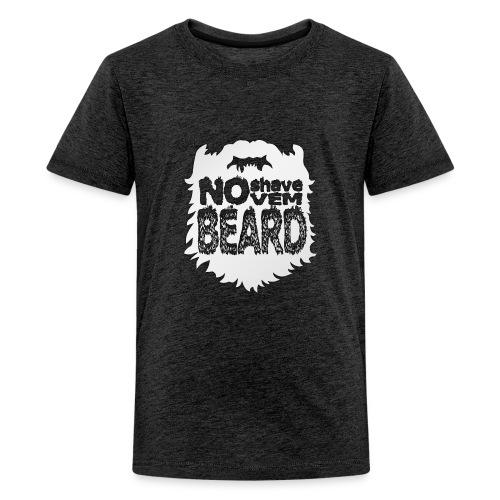No Shave November - Kids' Premium T-Shirt