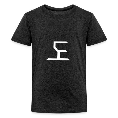 white SaKe logo - Kids' Premium T-Shirt