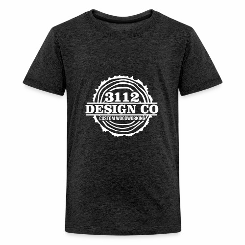 3112 Design Co - White Logo - Kids' Premium T-Shirt