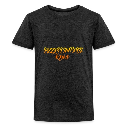 the king of Razzerr sniperss king - Kids' Premium T-Shirt