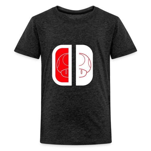 Nintendo Switch Mario Shroom - Kids' Premium T-Shirt