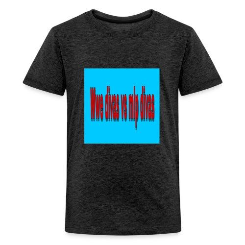 FDBC0EED EA9A 4C14 AE43 AA10140470BC - Kids' Premium T-Shirt