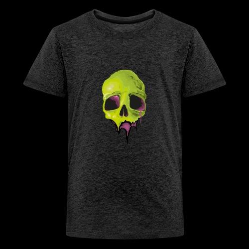 Undead Skull Design - Kids' Premium T-Shirt