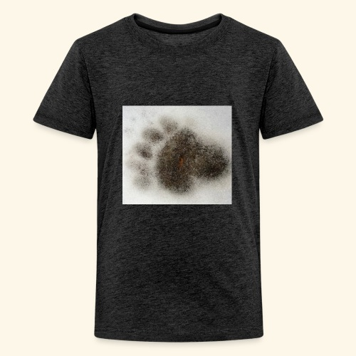 Bear footprint - Kids' Premium T-Shirt