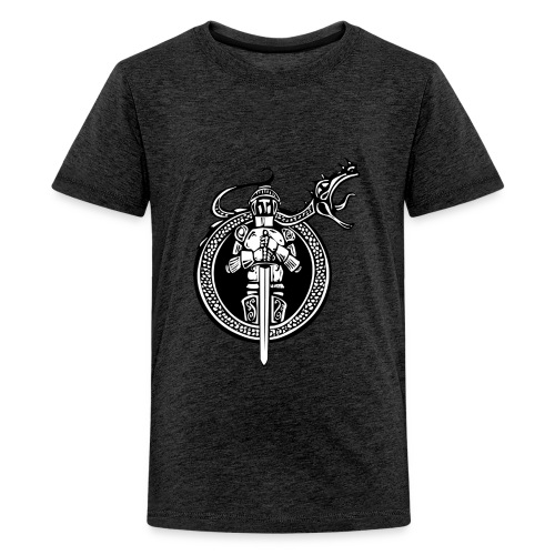 logo knight - Kids' Premium T-Shirt