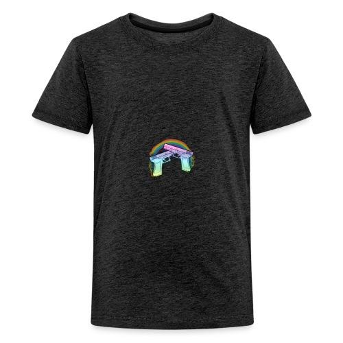 Rainbow guns - Kids' Premium T-Shirt