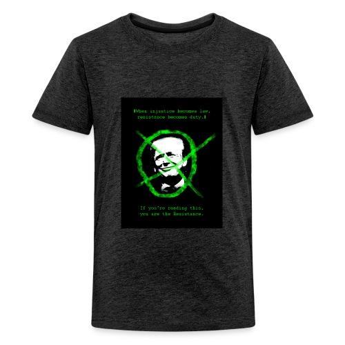 Anti Donald Trump Resistance Election 2016 T-shirt - Kids' Premium T-Shirt