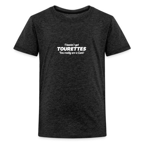 TOURETTES LOGO - Kids' Premium T-Shirt