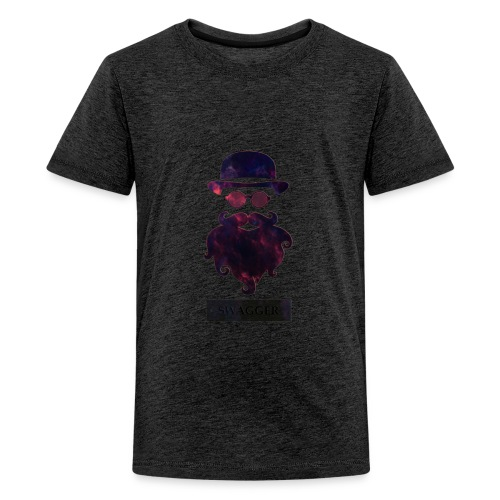 SWAGGER- Beard Swagg - Kids' Premium T-Shirt