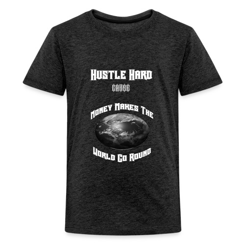Hustle Hard T-Shirt - Kids' Premium T-Shirt