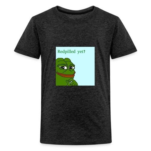 Smug Pepe Design - Kids' Premium T-Shirt