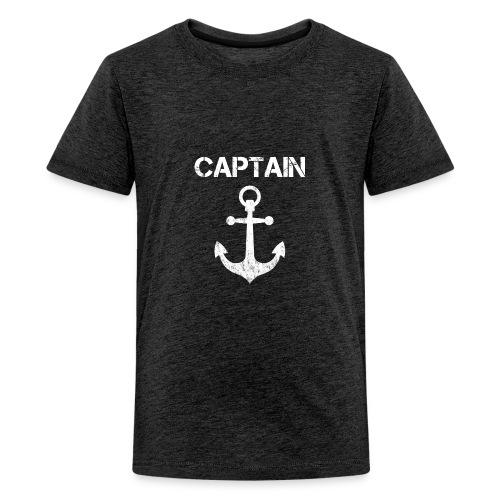 Captain Anchor - Kids' Premium T-Shirt