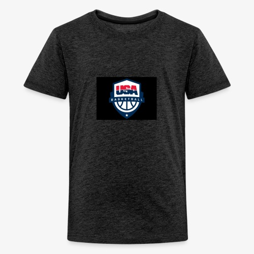 Team USA phone cases or shirts - Kids' Premium T-Shirt