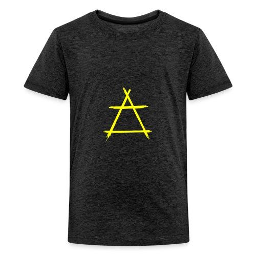 Element icon air yellow - Kids' Premium T-Shirt