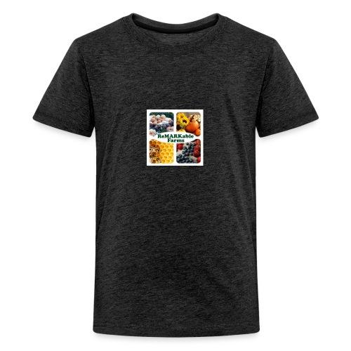 ReMARKable Farms Logo 2016 - Kids' Premium T-Shirt