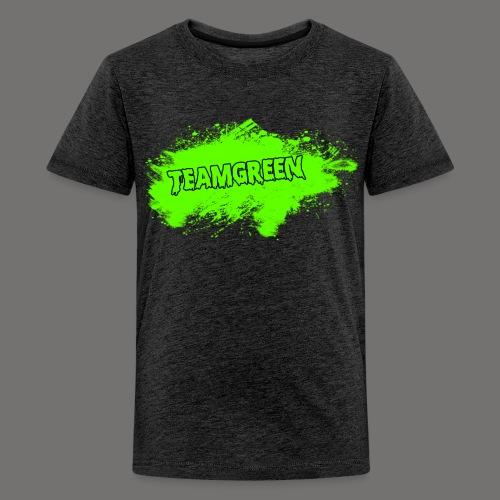 Team Green Blood 2 png - Kids' Premium T-Shirt