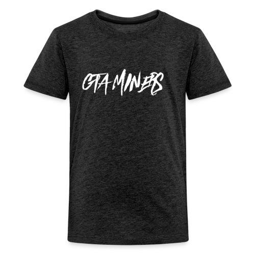 GTA MINERS WHITE LOGO - Kids' Premium T-Shirt