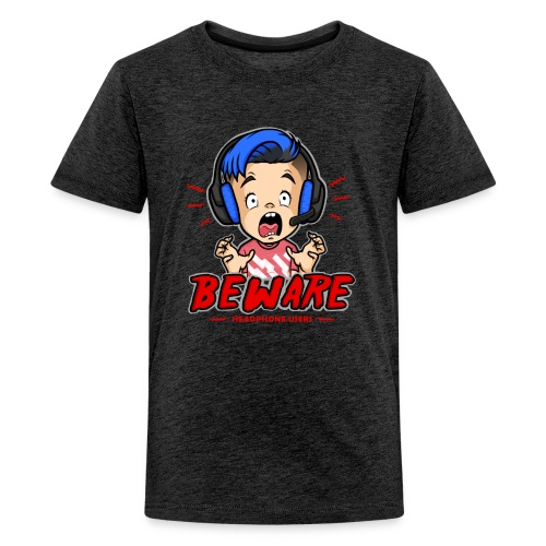 Headphone Users Beware - Kids' Premium T-Shirt