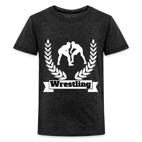 Wrestling design for players and Fans - Kids' Premium T-Shirt