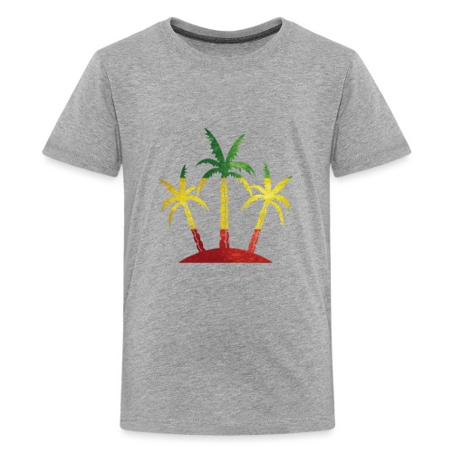 Palm Tree Reggae - Kids' Premium T-Shirt
