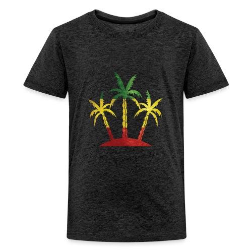 Palm Tree Reggae - Kids' Premium T-Shirt