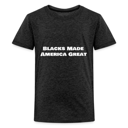 blacks_made_america2 - Kids' Premium T-Shirt